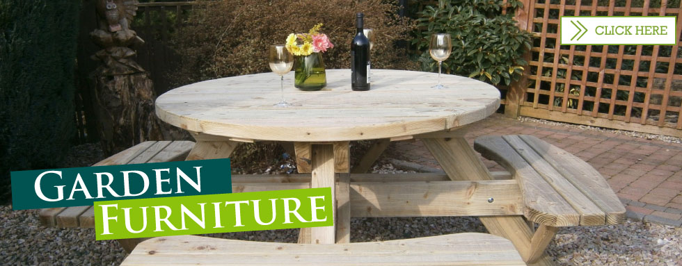 Rea sawmills manufactures and sells outdoor timber for Garden design northern ireland